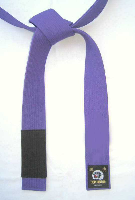 Jujitsu Color Belt Deluxe Purple