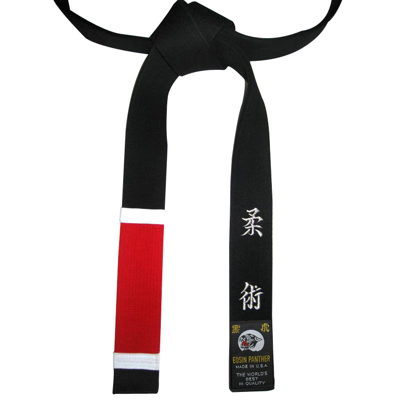 Custom Embroidered Martial Arts Belts, Custom Embroidered