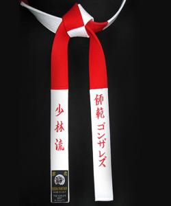 Judo red belt