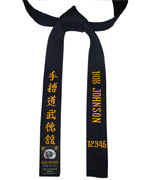 Midnight Blue Soo Bahk Do Belt