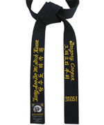 Midnight Blue Tang Soo Do Belt