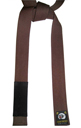 Jujitsu Color Belt Deluxe Brown