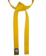 Yellow Color Belt