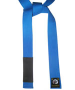 Jujitsu Color Belt Deluxe Blue