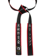 Deluxe Satin Black Master&Shihan Belt
